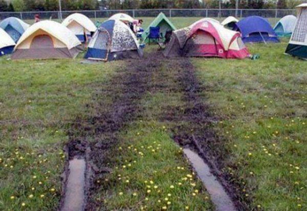 mud tent